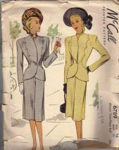 Vintage McCall Sewing Pattern found on Etsy